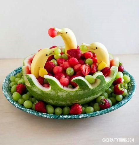 Photo of Geschnitzte Wassermelonen-Ideen
