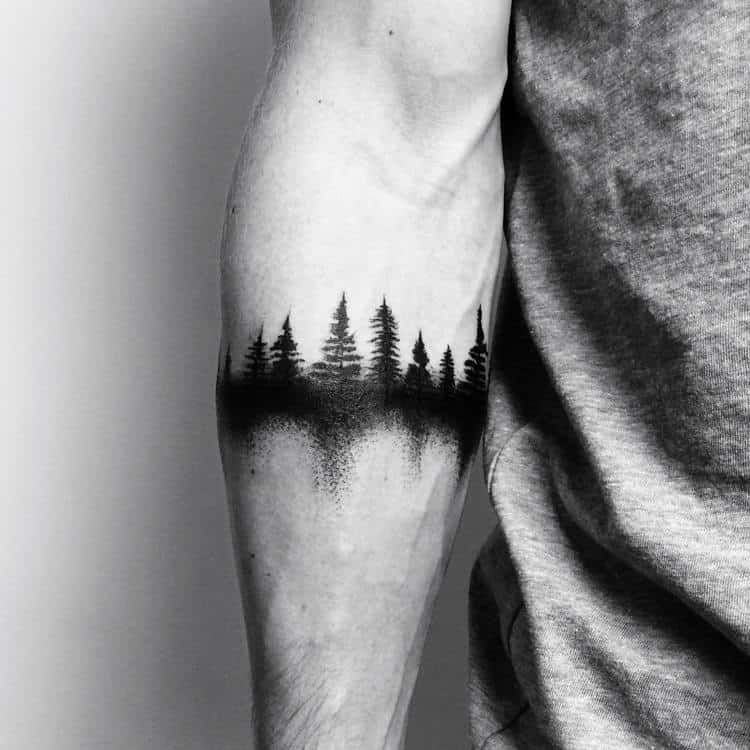 40 Creative Forest Tattoo Designs and Ideas | Page 4 of 4 | TattooAdore