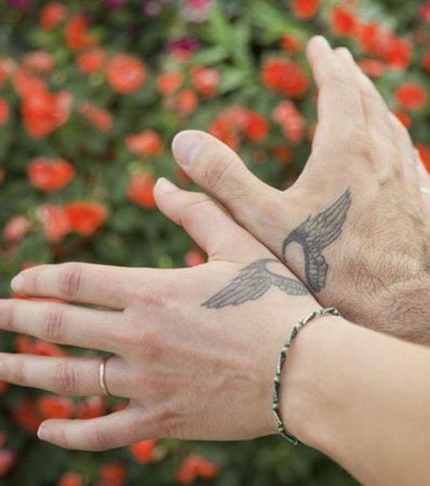 25 tatouages de couples somptueux | projets à essayer | pinterest