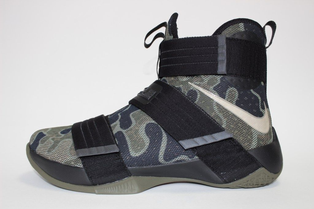 Look Out For The Nike LeBron Zoom Soldier 10 SFG Camo Soon