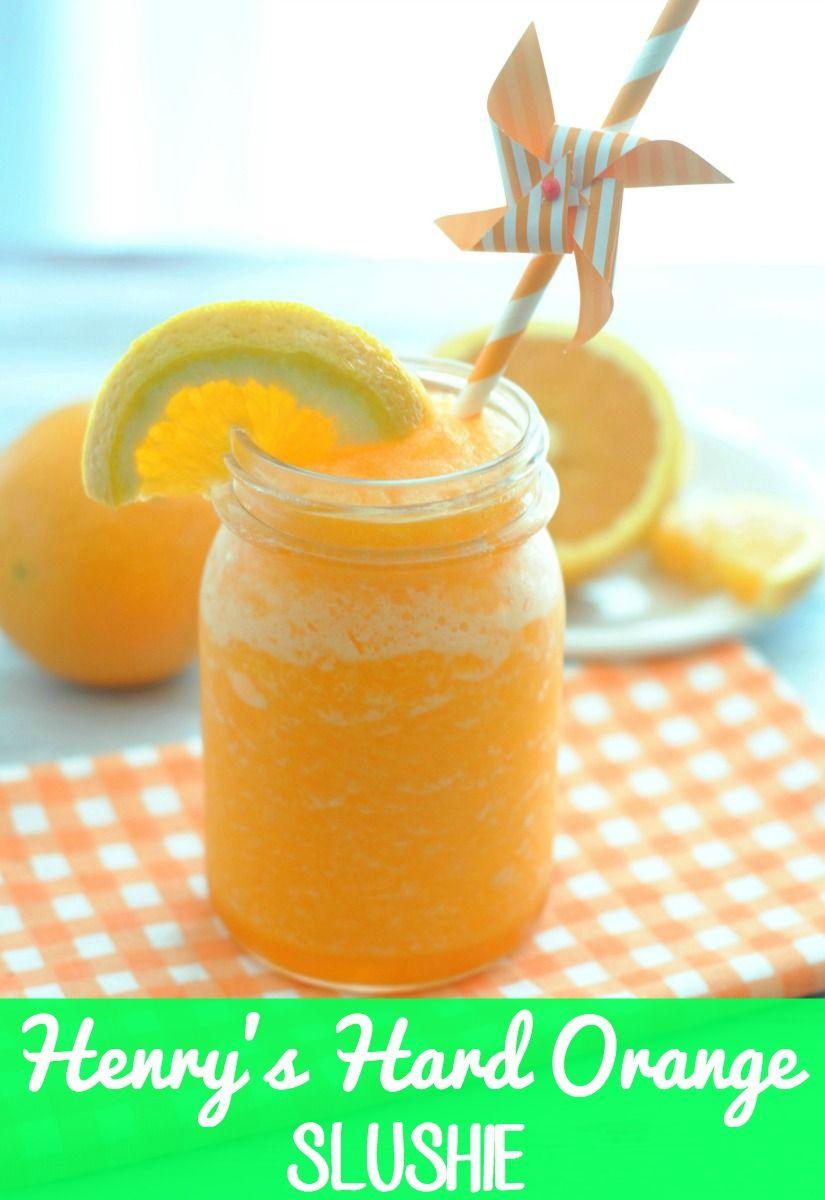 Henry's Hard Orange Slushie