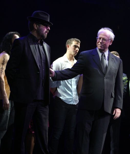Ghost Opening Night: Dave Stewart, Bruce Joel Rubin & Richard Fleeshman