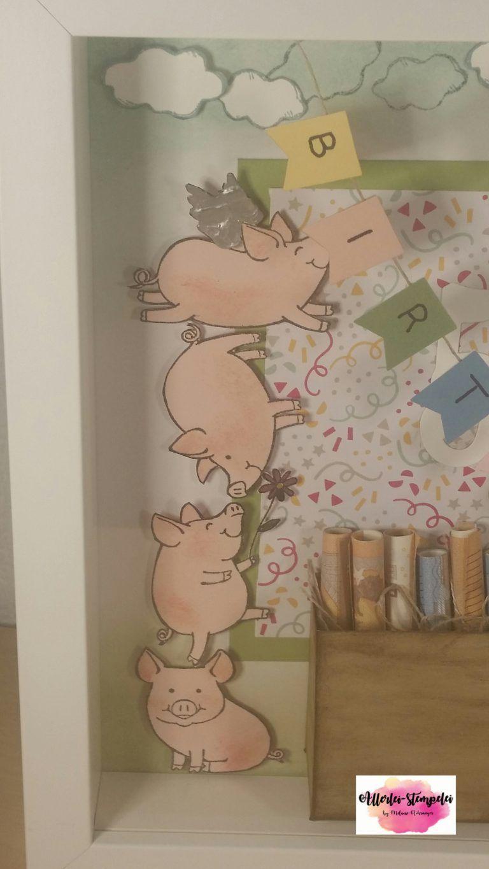 Ribba Rahmen Glücksschweinchen Zum 50 Geburtstag Allerlei