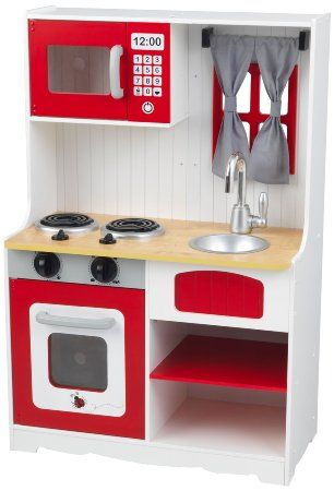 Cucina Rossa Country Kidkraft 53299 Amazon It Giochi E