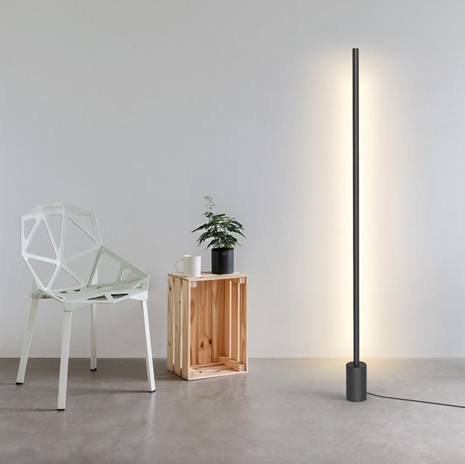 The Line Minimalist Vertical Bar Light Led Floor Lights Led Floor Lamp Cheap Floor Lamps