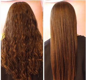 Lissage bresilien accelere la pousse des cheveux
