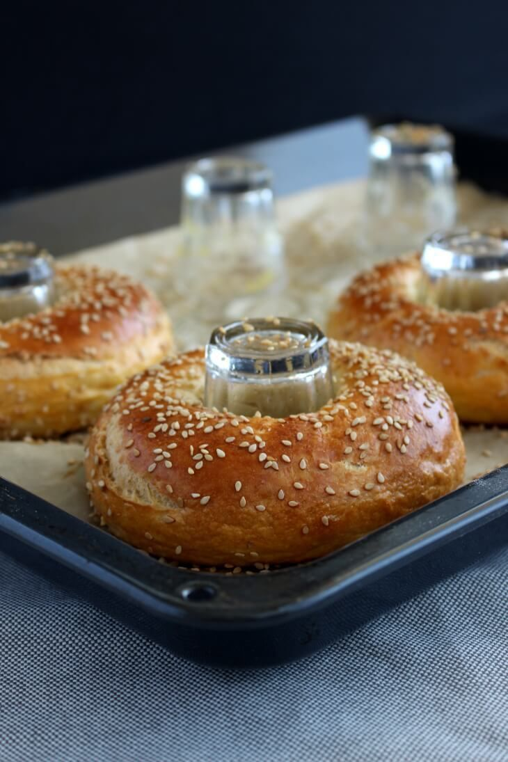 Photo of Bagels mit Sesam (& Geheimtrick!) | Bäckerina