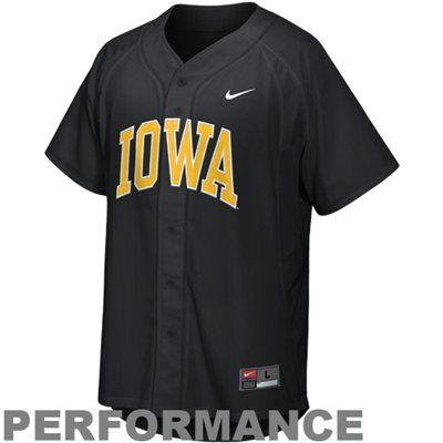 brand new 1650e f782e Iowa Hawkeyes Nike Replica Baseball Jersey   Iowa!!   Iowa ...