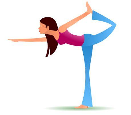 bailarina  yoga dibujos yoga y beneficios