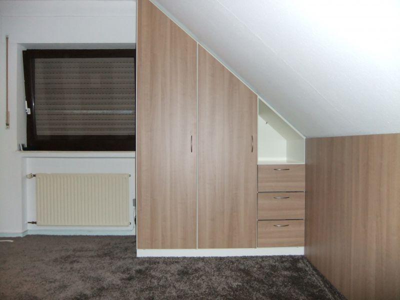 Mu00f6bel nach Mau00df Einbauschru00e4nke Schlafzimmer Dachschr - schlafzimmer ideen dachschräge