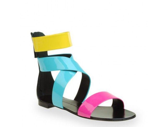 discount Giuseppe Zanotti 70s Color Setales