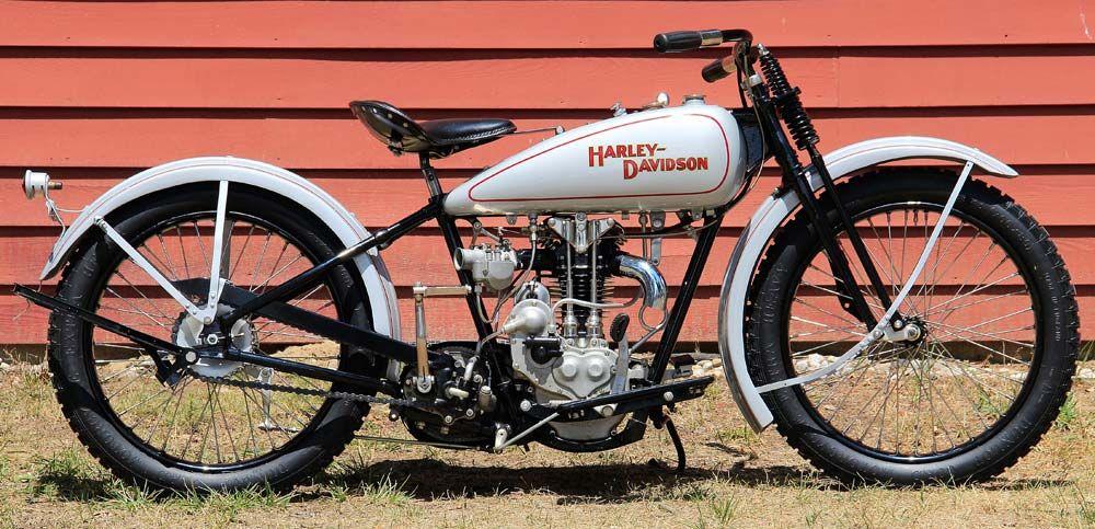 Rare 1928 Harley Model Ba Peashooter Single 350cc: Rocky Burkhardt's Restored 1928 Harley Peashooter