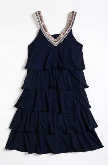 Sally Miller Ruffle Dress (Big Girls) available at Nordstrom..for Sadie #sallymiller