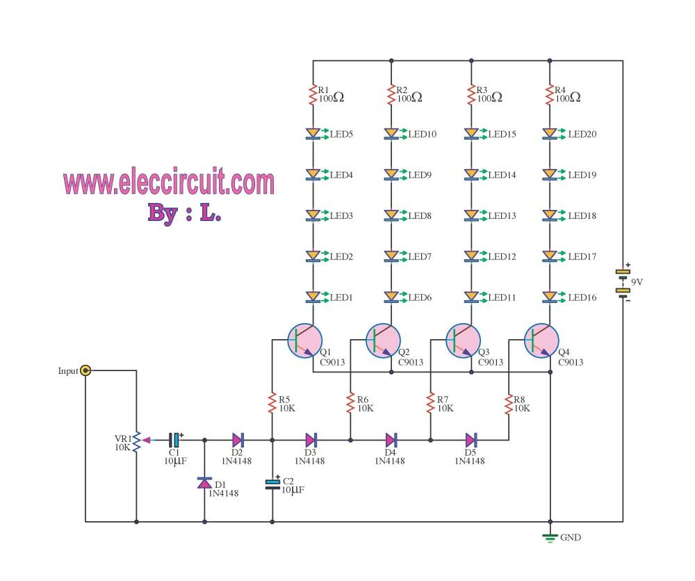 Pin By Raghaven On Electronics In 2018 Pinterest Circuit Led Mosfet Amplifier Electronic Circuits And Diagramelectronics Audio Toys Arduino
