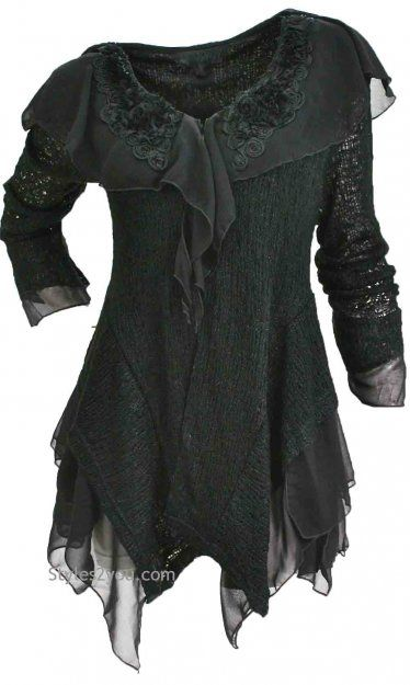 AP Hepburn Vintage Sweater In Black