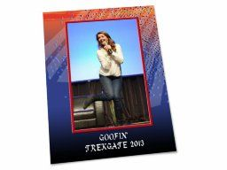 """Shared Project--My scrapbook page of """"Goofin' at TrekGate"""""""