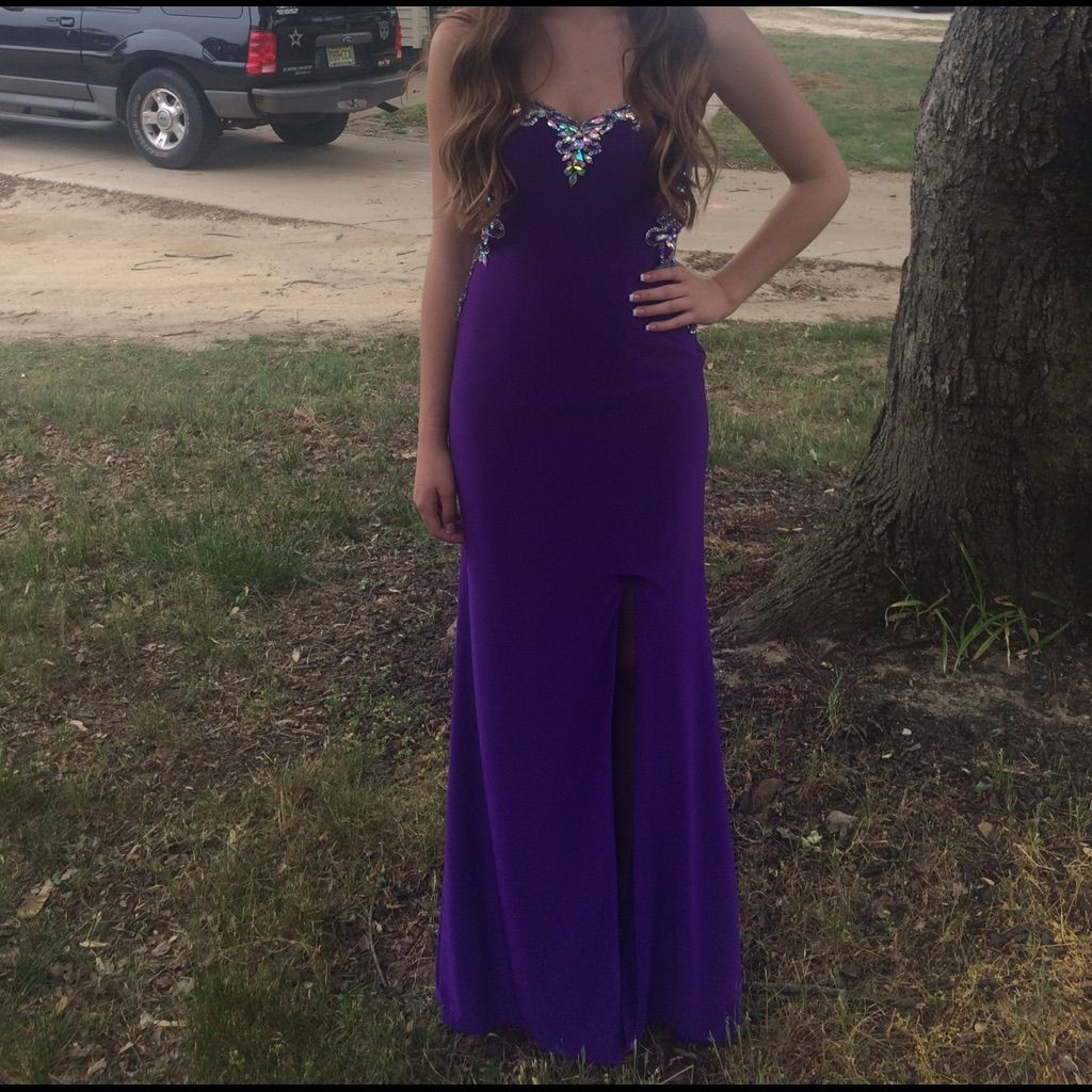 Purple clarisse size prom dress products
