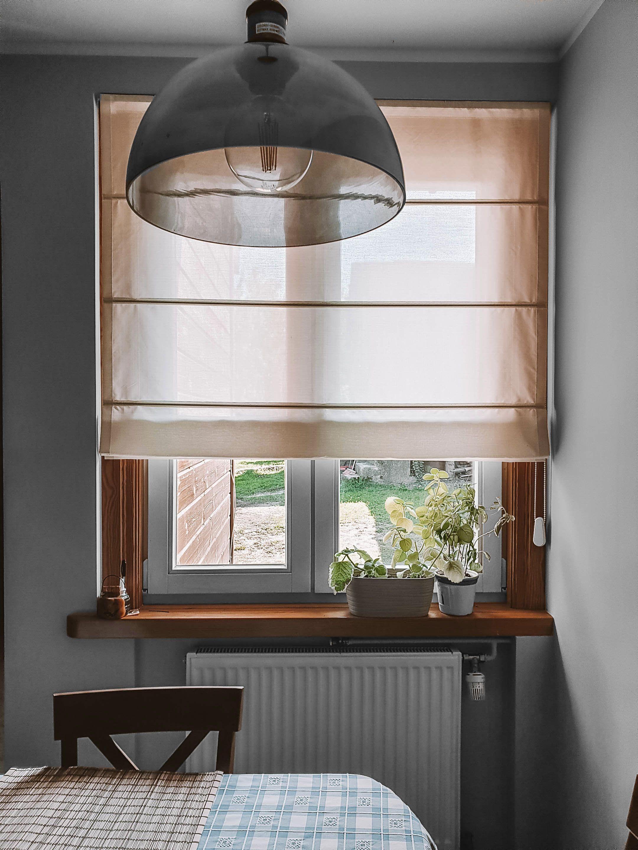 Roleta Rzymska We Wnece W Kuchni Nasze Domowe Pielesze Home Home Decor Modern House