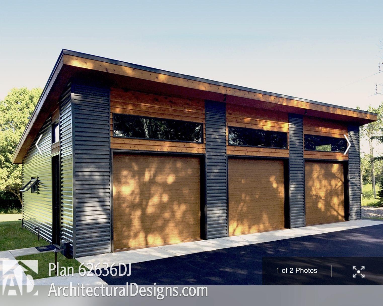 Modern Detached Garage Modern Garage Garage Plan Garage Decor