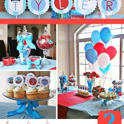Chuggington Birthday Party Future