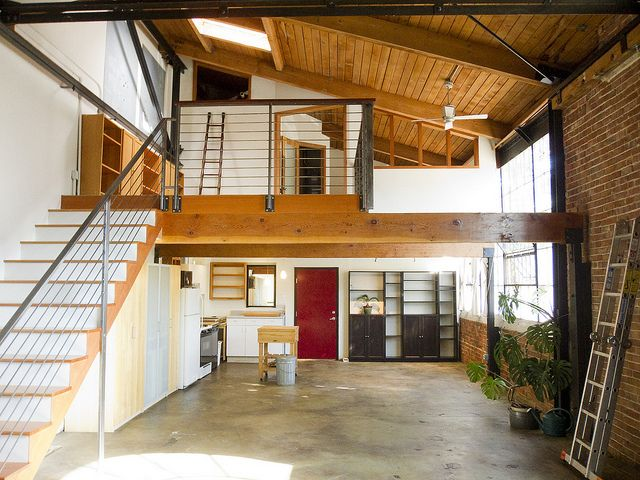 West Oakland Loft For Rent Lofts For Rent Loft Barn Conversion Interiors