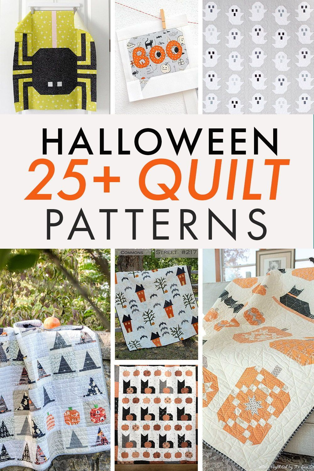 Halloween Quilts, Patterns 2020 Sewing and Quilting Patterns and Tutorials   Coral + Co. in 2020