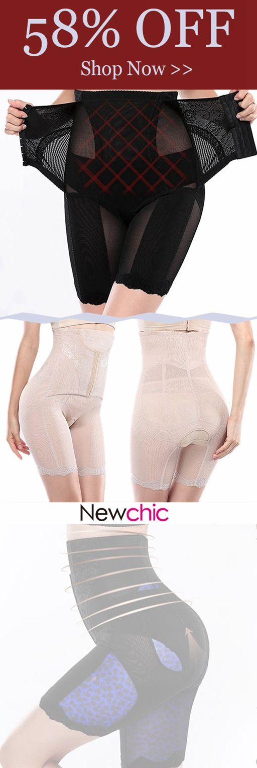 ffdc27ff158c5  US 21.89 Plus Size High Waist Tummy Control Open Crotch Front Closure  Shapewear  highwaist  plussize  shapewear  cozy