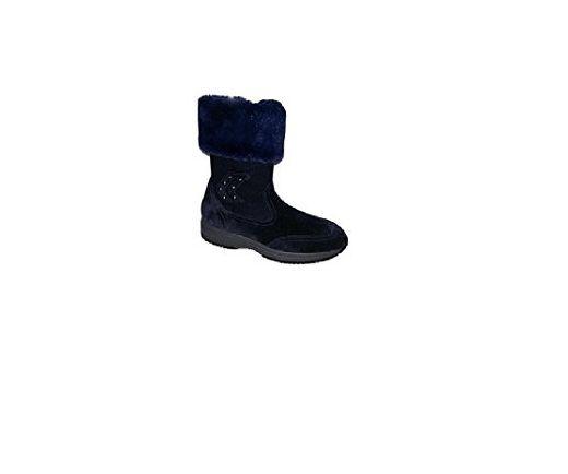 Geox Damen Stiefel Stiefeletten Blau Marineblau Blau Marineblau Grosse 39 Eu Stiefel Fur Frauen Partner Link Stiefel Stiefeletten Damen