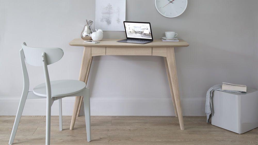 Scandi Natural Oak Desk