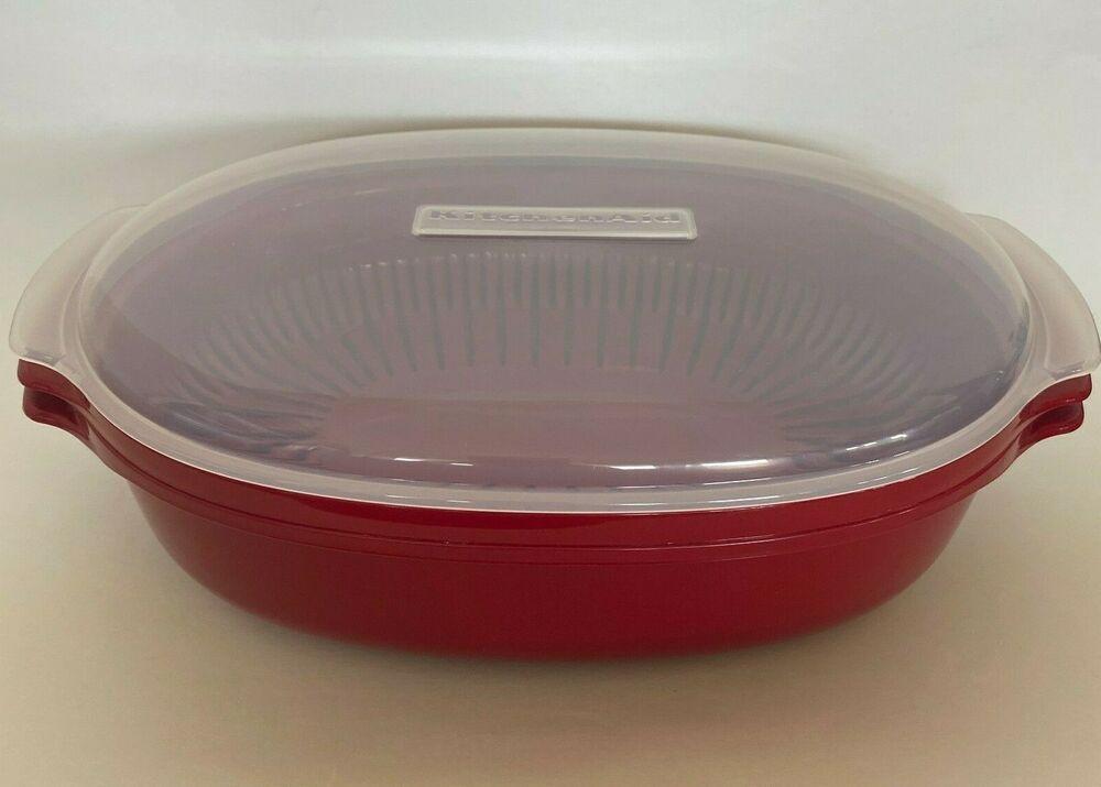 kitchenaid microwave 3 pc steamer