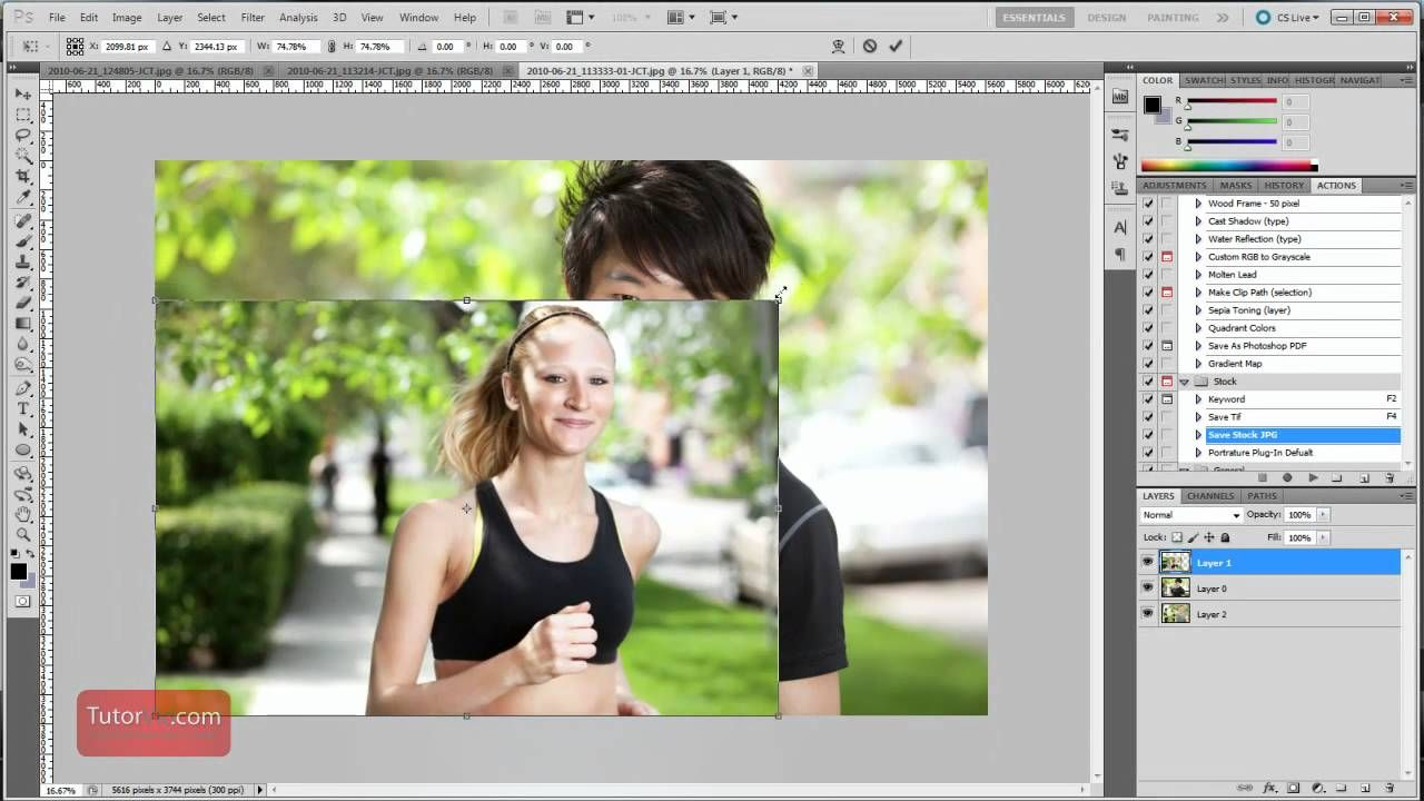 Adobe photoshop resize a specific layer image 60 seconds adobe photoshop resize a specific layer image seconds baditri Images