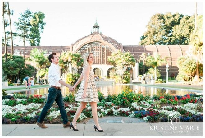 Botanical Gardens | Balboa Park Engagement Photo | San Diego Engagement  Wedding Photographer | Kristine Marie