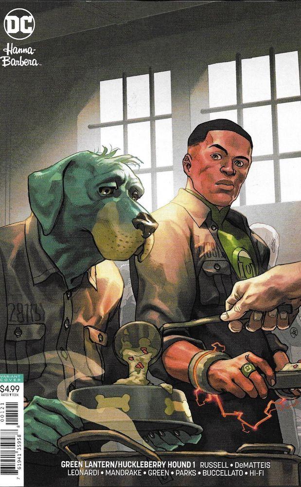 Green Lantern Huckleberry Hound Comic Issue 1 Limited