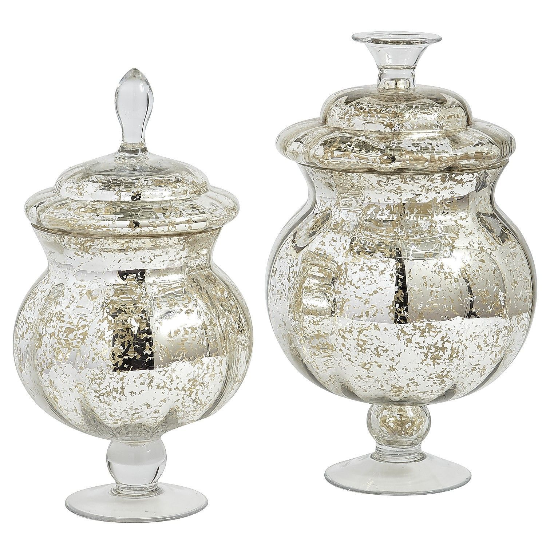 Mercury Glass Apothecary Jars Pier 1 Imports Glass Apothecary