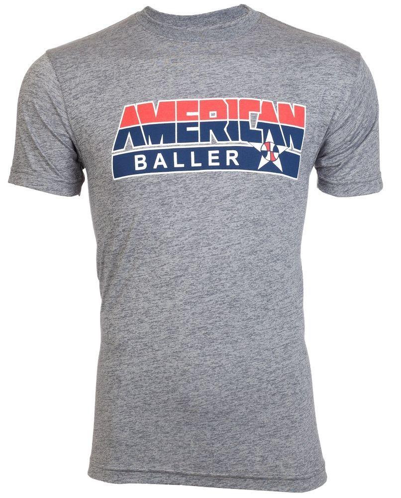 6972e1a0b618ce AMERICAN BALLER Men T-Shirt BASKETBALL Dream Team USA NBA GYM Shoes Jordan  M-3XL  AmericanBaller  GraphicTee