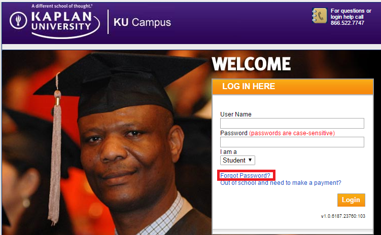 kaplan university has developed a user friendly online portal for