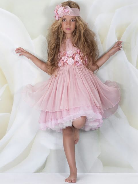 Vestido ceremonia niña, en Vannu | comunione x greta | Pinterest ...