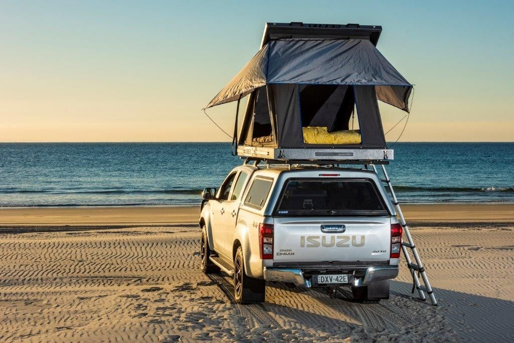 Grand Tourer Aluminium Rooftop Tent 2min Setup 75mm