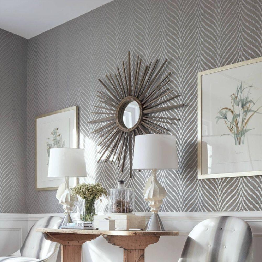 Clayton herringbone silver & charcoal in 2020 Home