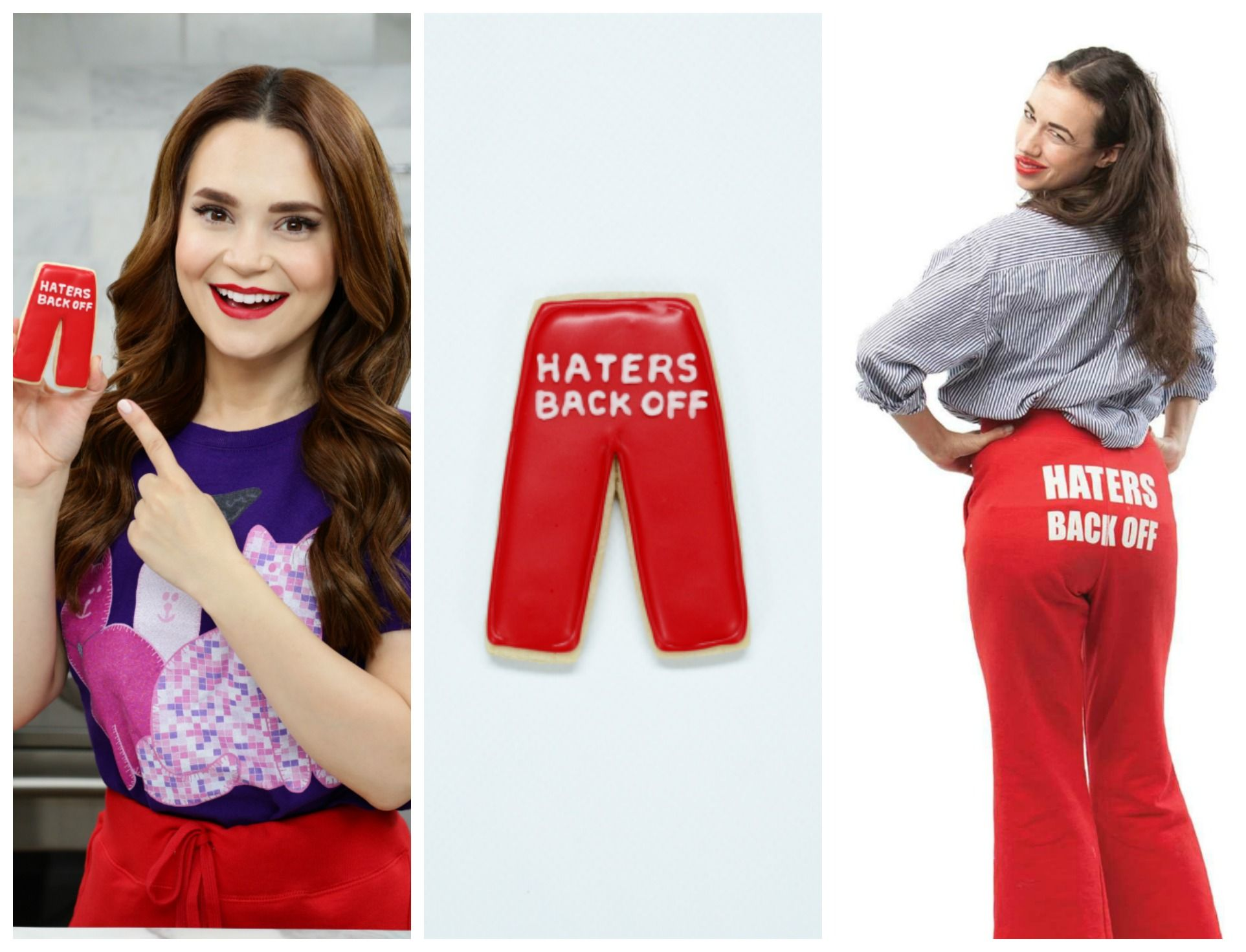 Haters Back Off Pants Cookies Miranda Sings Nerdy Nummies In