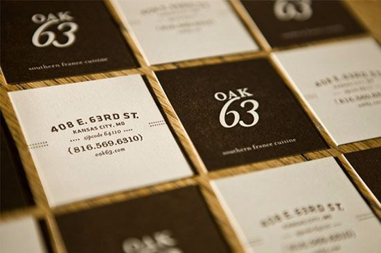 25 inspiring restaurant business cards ibrandstudio - Restaurant Business Card