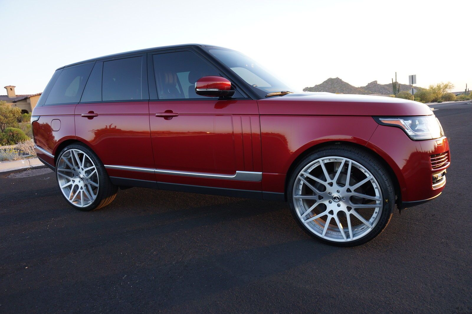 2014 Supercharged Range Rover On 26 Inch Forgiatos For Sale Friday Rides Magazine Range Rover Supercharged Suv Range Rover Range Rover