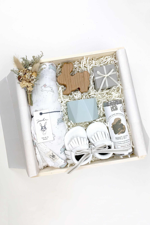 Baby Boy Gift Box Shower Gift Baby Shower Gift Box Baby Gift Hampers Organic Baby Gifts
