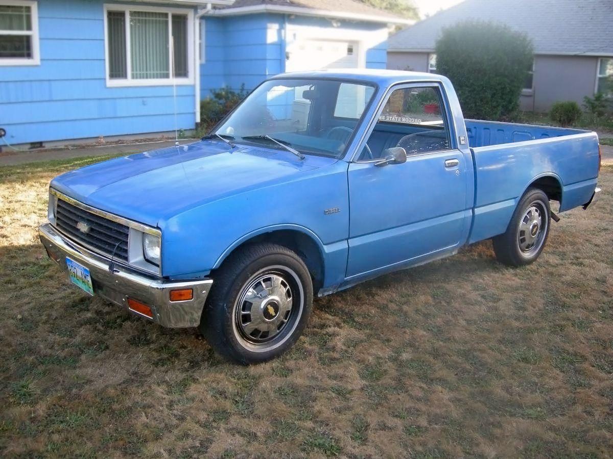 2 950 Diesel 1982 Chevrolet Luv Diesel Pickup Chevy Luv Chevrolet Chevrolet Pickup