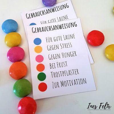 Ines Felix - creative to imitate: Smarties in the glass as an Easter present #fotogeschenk