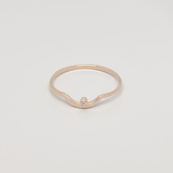 Photo of fejn jewelry Ring 'Sparkle Curved'