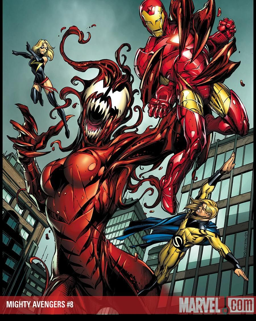 Mighty Avengers Shecarnage Symbiote Ironman Mightyavengers