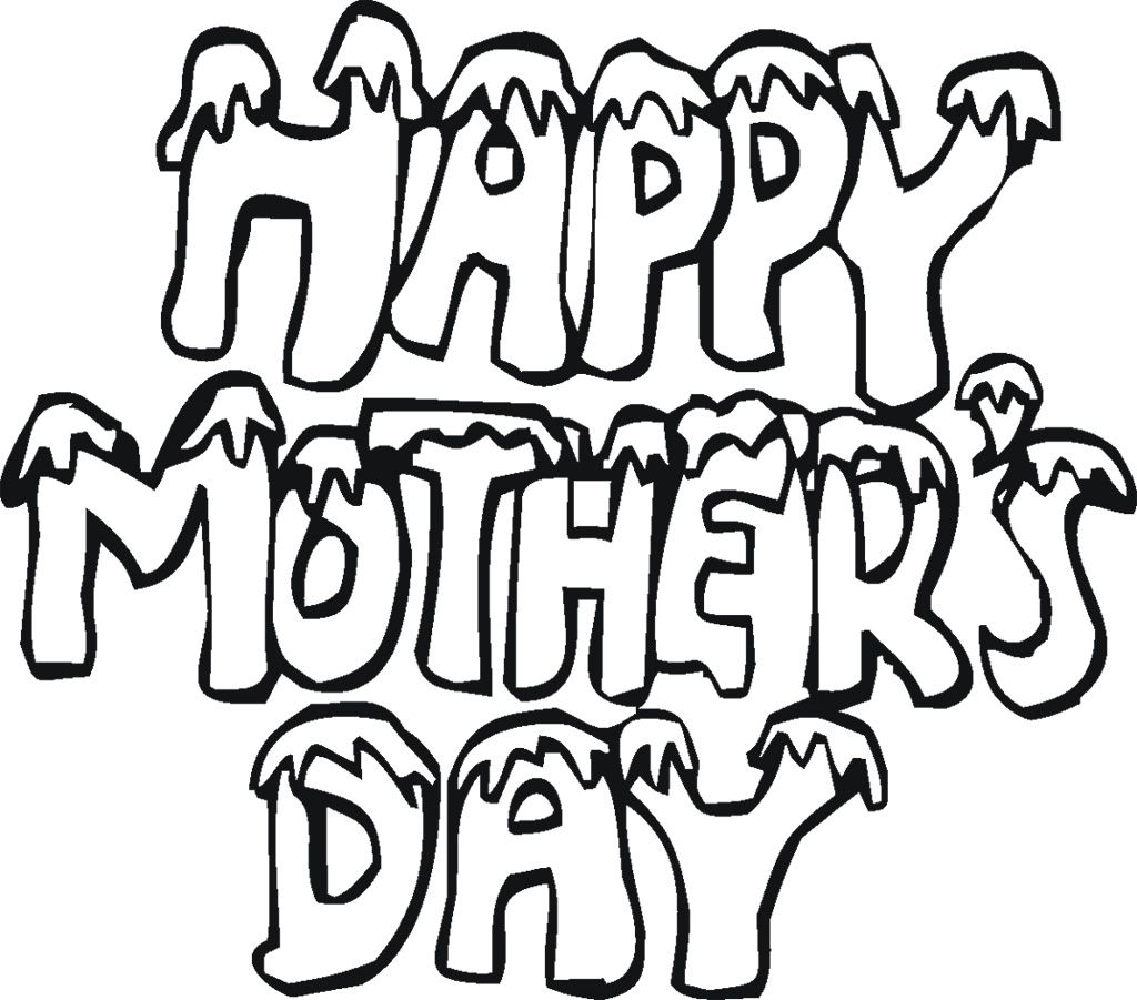 Free printable coloring pages mothers day - Free Printable Mothers Day Coloring Pages For Kids
