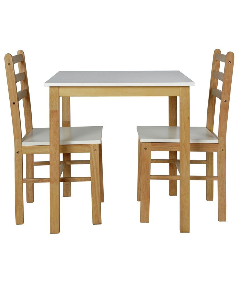 Buy Lily Two Tone Dining Table 2 Matching Chairs At Argoscouk