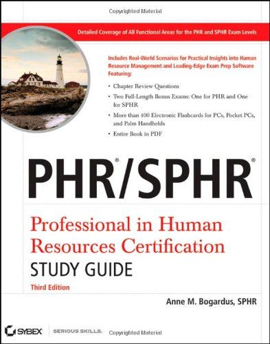 Bestseller books online PHR / SPHR Professional in Human Resources ...